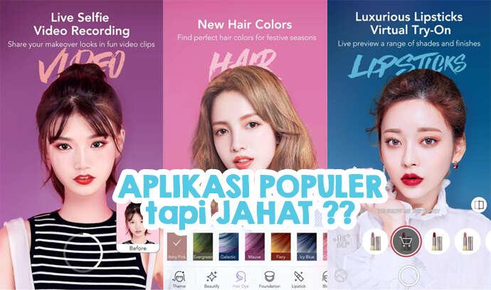 6 Aplikasi Jahat tapi POPULER di kalangan Cewek Indonesia