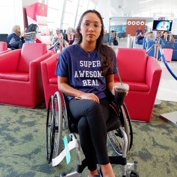 Tentang Laura Dinda, Atlet Andalan APG Penyandang Paraplegia Flaccid