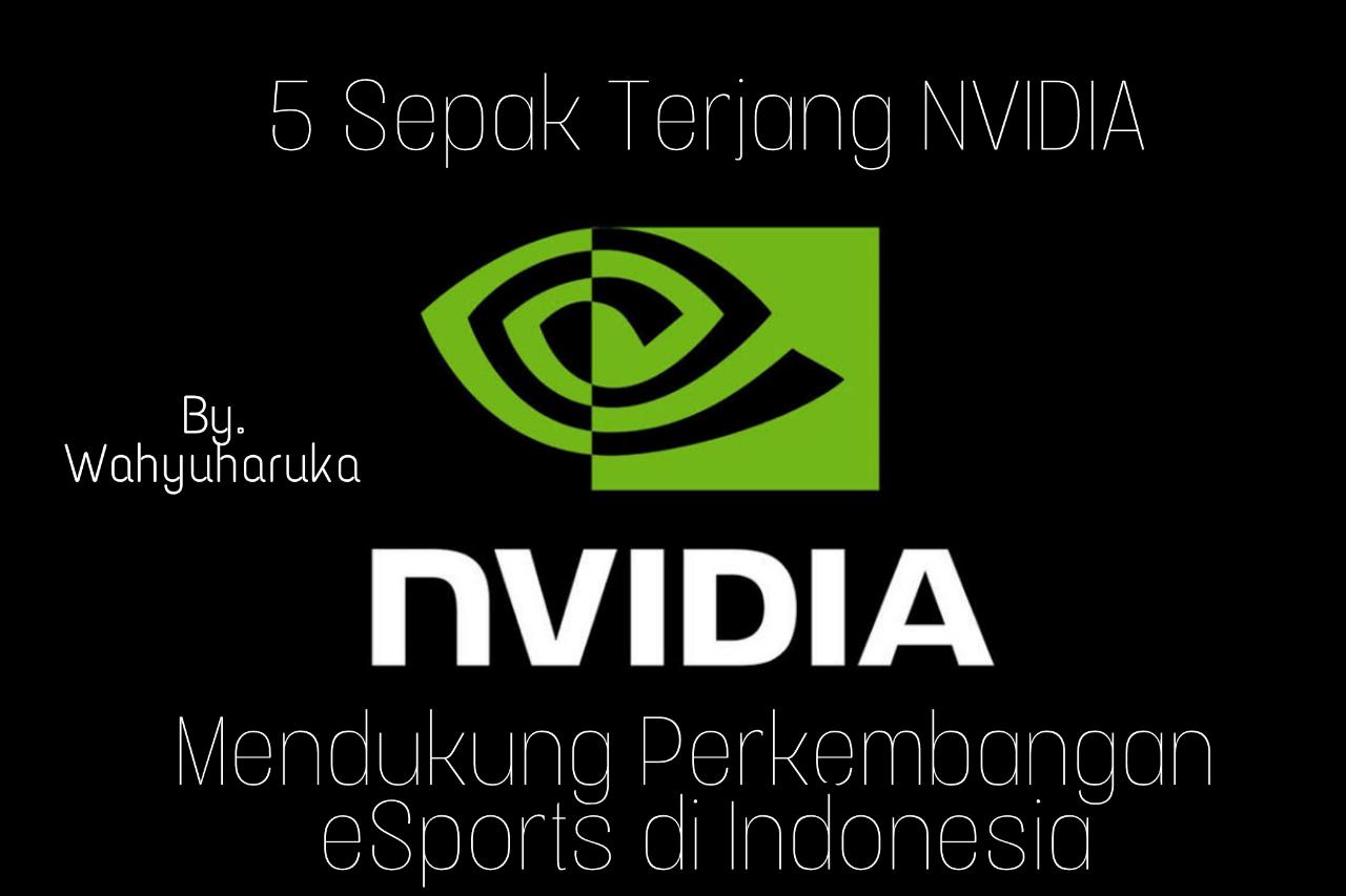 5 Sepak Terjang NVIDIA untuk Mendukung Perkembangan eSports di Indonesia