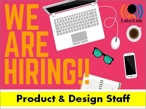 Product & Design Staff : (JAKARTA)