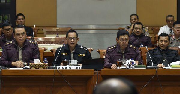 Ketua DPR Minta Kapolri Tak Terpengaruh Pemberitaan Terima Suap