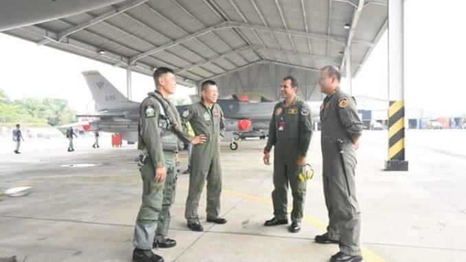 TNI AU Latihan Tempur Gabungan Bersama AU Singapura