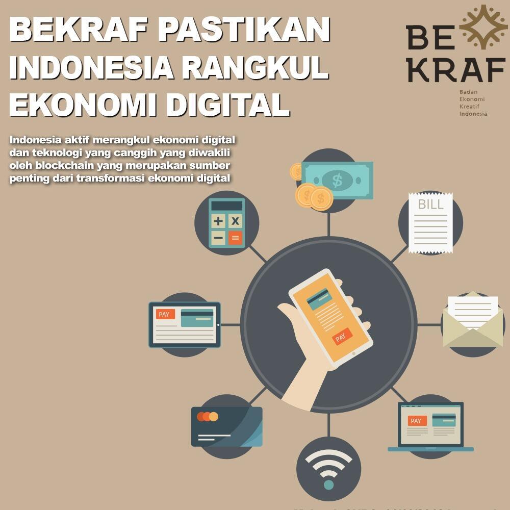 Kabar Baik! BEKRAF Pastikan Indonesia Rangkul Ekonomi Digital