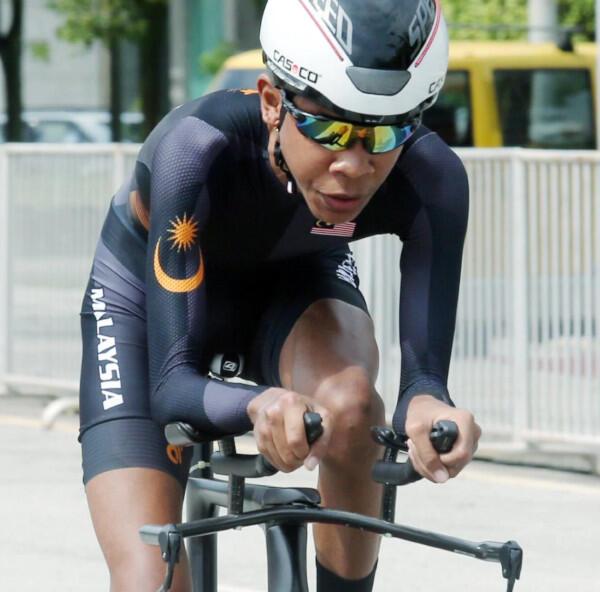 Atlet Para-Cycling Malaysia Puji Suporter Indonesia