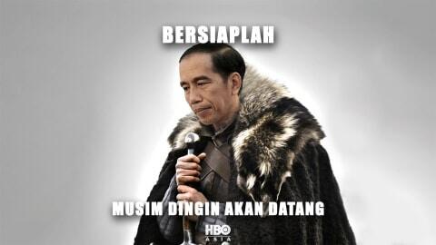 HBO Asia Posting Meme Jokowi Perankan Jon Snow di Game of Thrones