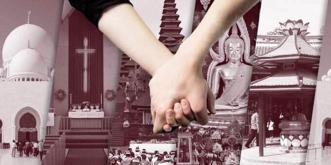 Pacaran Beda Agama Tetap Bisa Bahagia Kok!