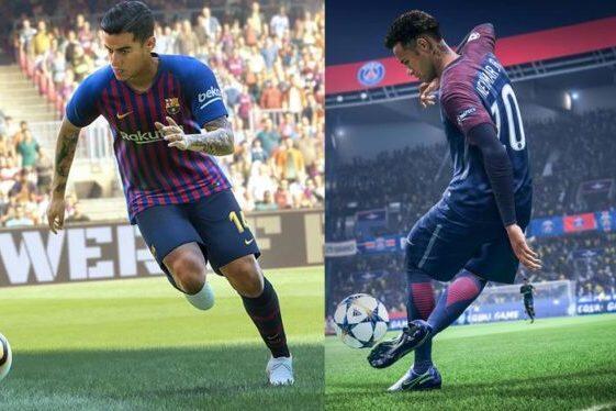 PES 2019 atau FIFA 19 Gan? Yuk Bahas Dimari !