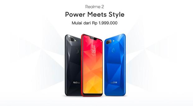 Perdana Dijual di Indonesia, Realme 2 Mulai Jam 11.00 Hari Ini!