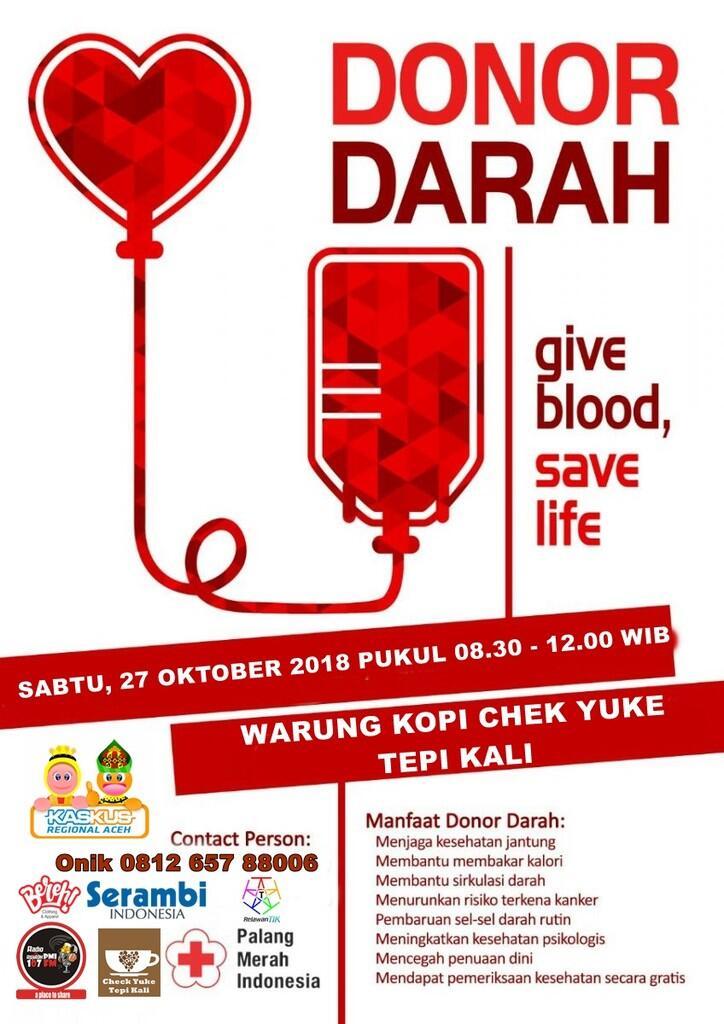 [FR] Donor Darah Sumpah Pemuda 2018