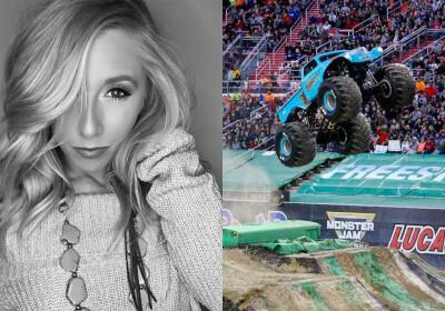 Mengenal Sosok Manis di Balik Aksi Ngeri Monster Truck