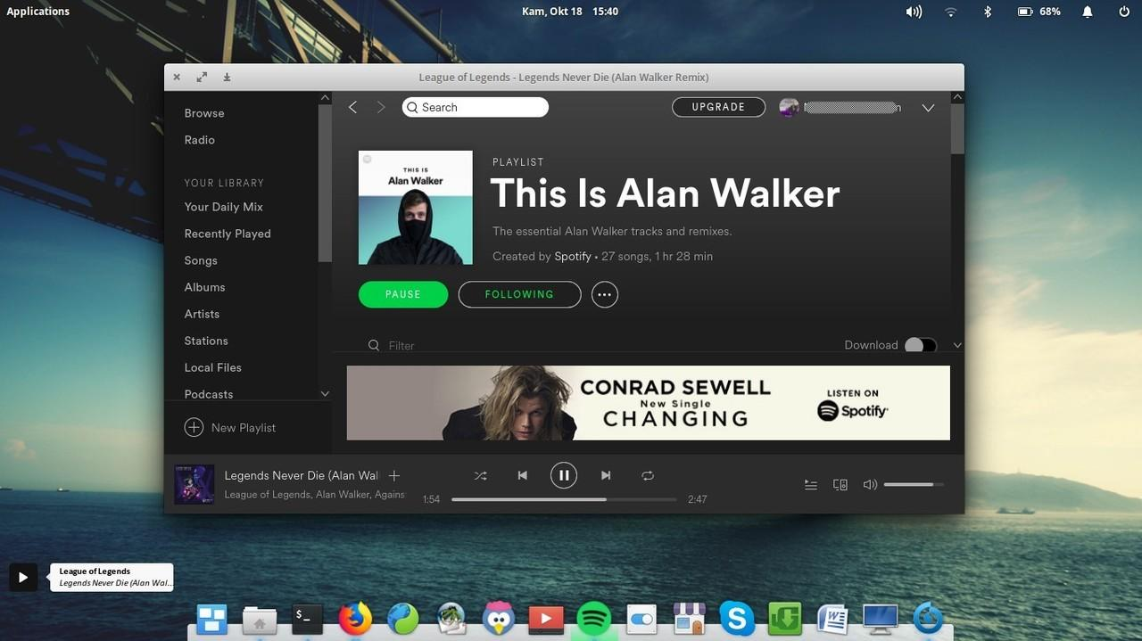 Install Covergloobus on Ubuntu worked with Spotify Plugins