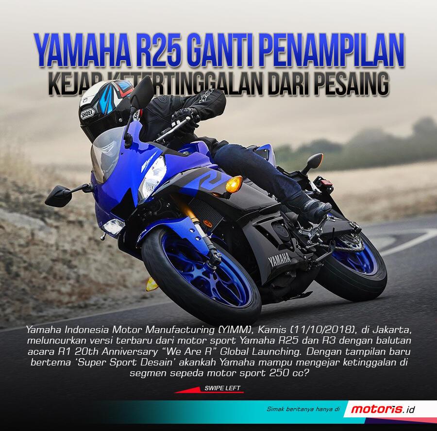Gimana Tampilan Yamaha R25 Baru Bagus Atau Jelek Gan