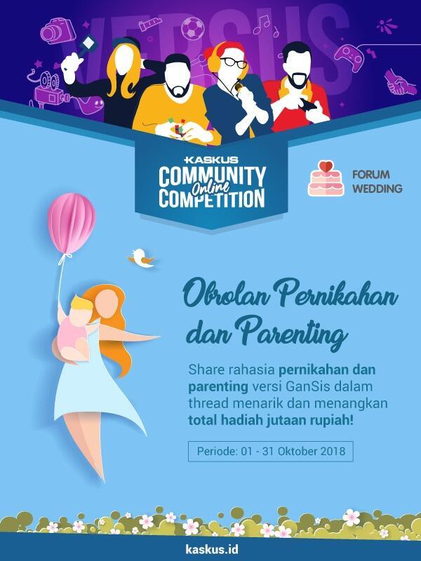 [COC] Berbagi ide dan kiat dalam urusan pernikahan dan keluarga #AslinyaLo