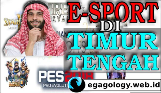 5 FAKTA PALING MENGGEMPARKAN JAGAD E-SPORT DI TIMUR TENGAH