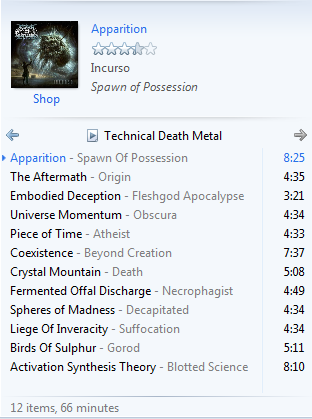 [MUSICOC] #Playlist Technical Death Metal Mantab #AslinyaLo