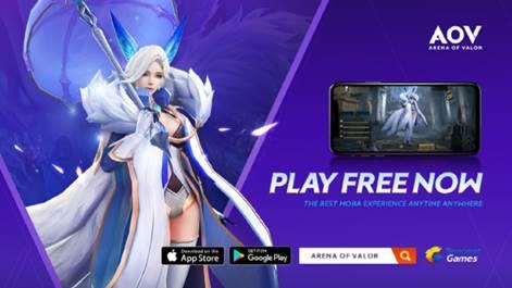 [IOS/Android] Arena of Valor No 1 MOBA MOBILE GAMES