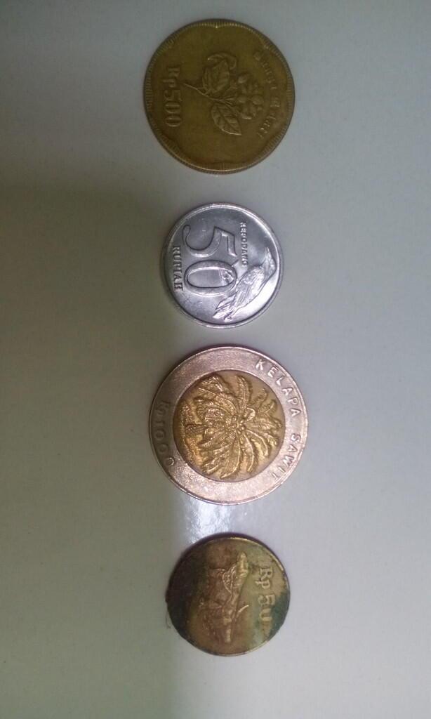 Uang Logam Rupiah Lama