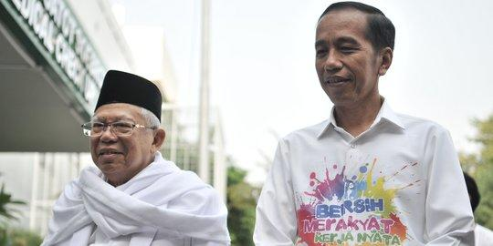 Elektabilitas naik, PKB klaim coattail effect Jokowi dan Ma'ruf Amin