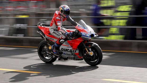 Dovizioso Senang Bisa Sulitkan Marquez di MotoGP 2018