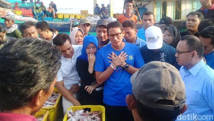 Sandi Kembali Janji Mau Permudah Perizinan Nelayan, KKP: Sepertinya Nggak Paham