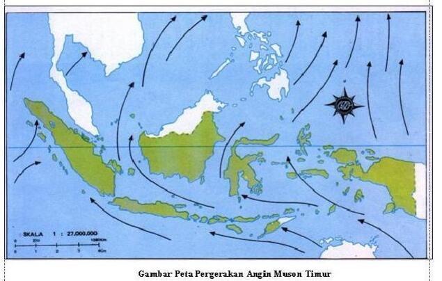 Mengenal Angin Muson, Angin Yang Mempengaruhi Iklim Di Indonesia