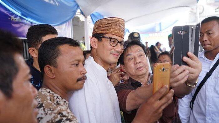 Kunjungi Pecinan Semarang, Sandi Dicurhati Sembako Mahal