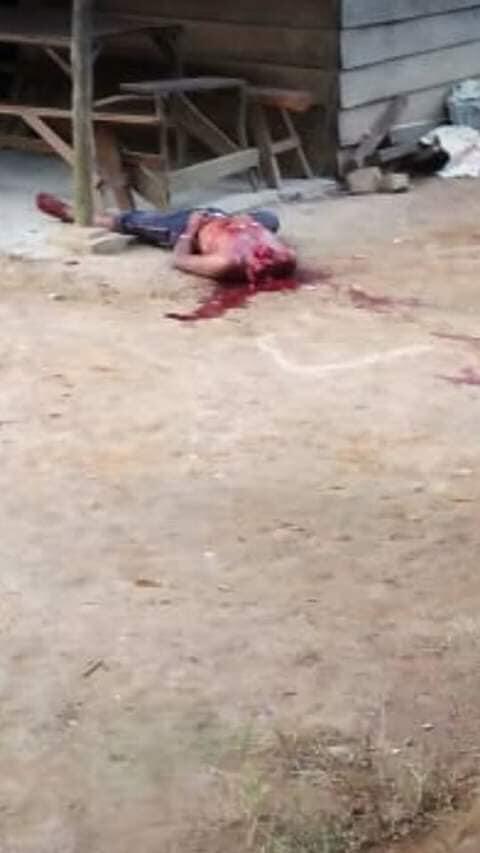 pembunuhan di desa lae ambat