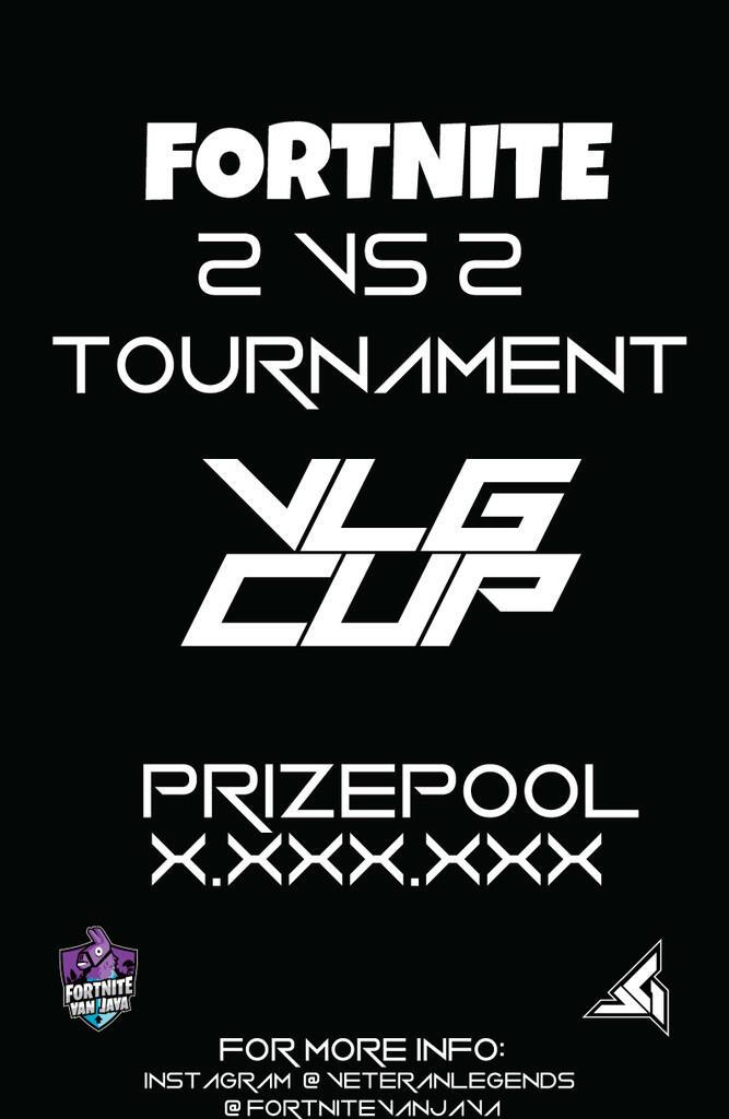 """OPEN TOURNAMENT """"VLG CUP"""" 2VS2 FORTNITE"""