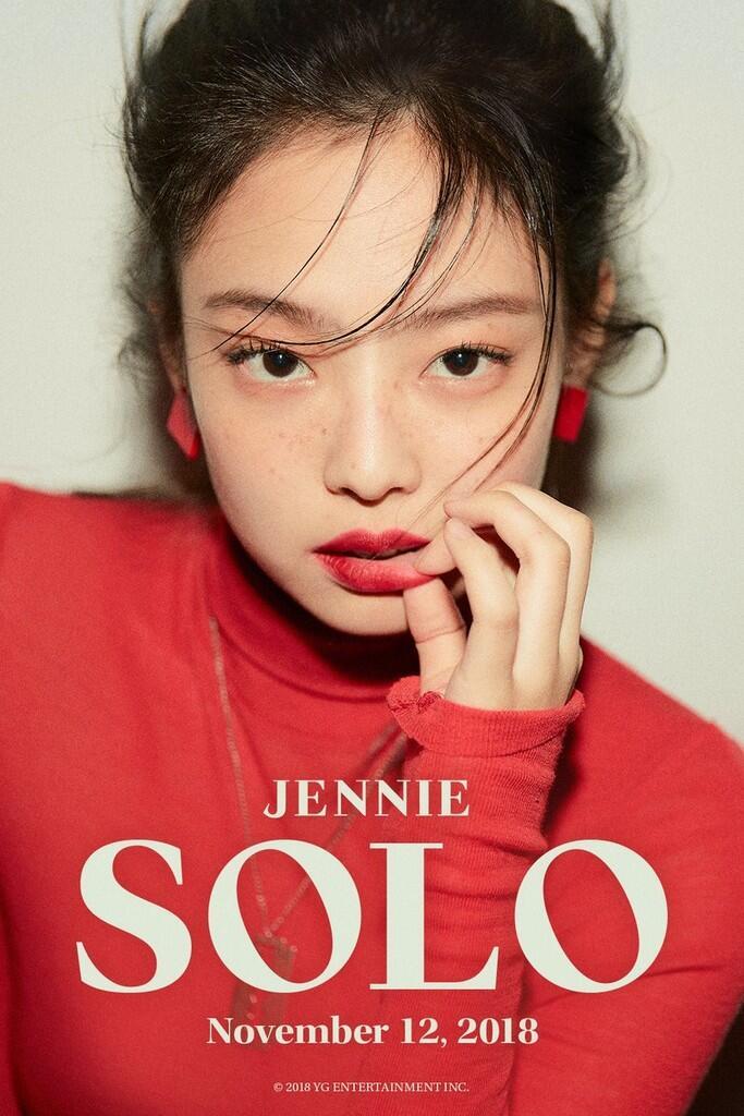 Tatapan Maut Jennie 'BLACKPINK' di Teaser Foto Debut Solo