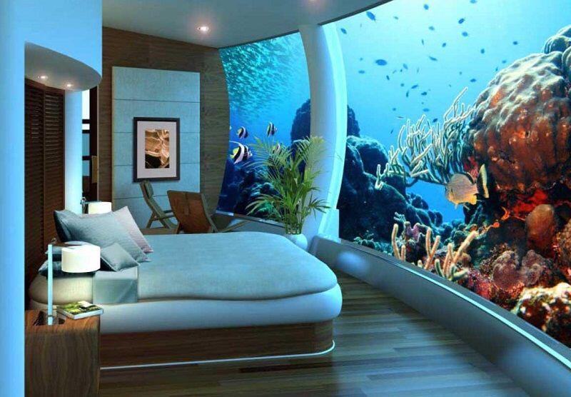 5 Hotel Mewah Bawah Laut yang Super Keren, Yakin Gak Mau Menginap?