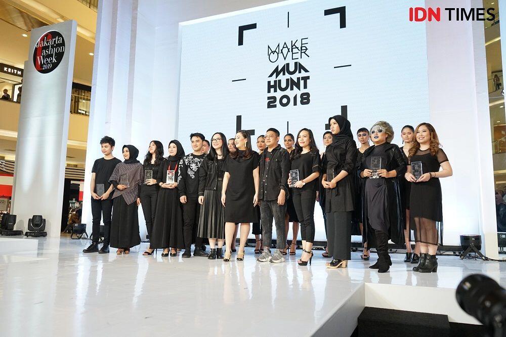 Delapan Pemenang Make Over MUA Hunt 2018 Ikut dalam JFW 2019