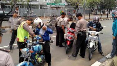Syarat Utama Motor Modif Lolos dari Razia Polisi