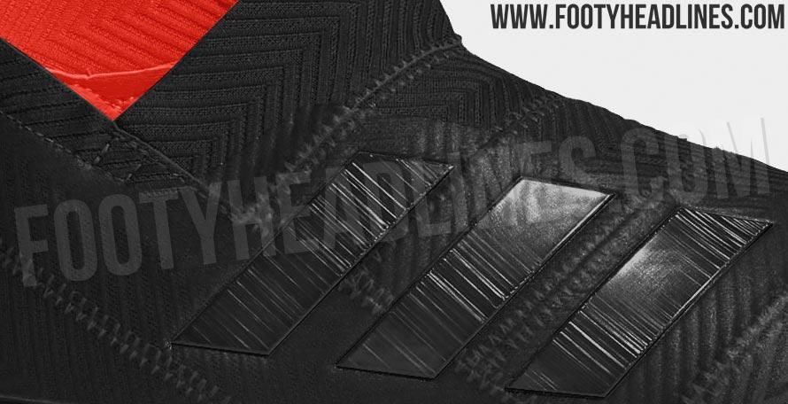 Penampakan Adidas Nemeziz 2019 'Balckout & Red'