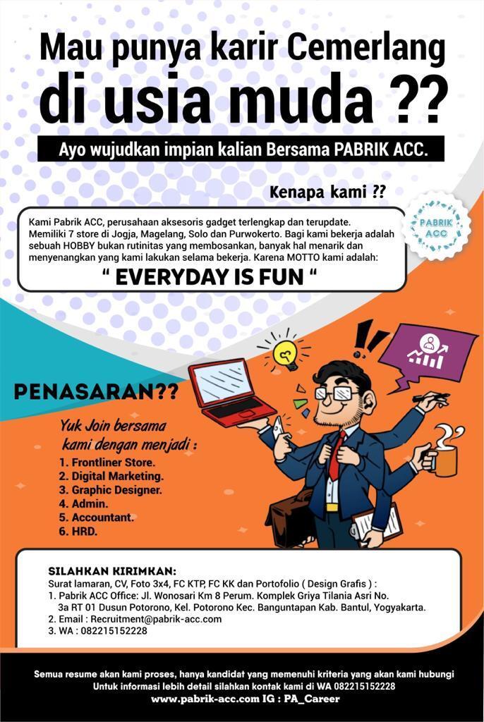 Raih Karir Cemerlang Bersama SuperFUNtastic Team !!!!