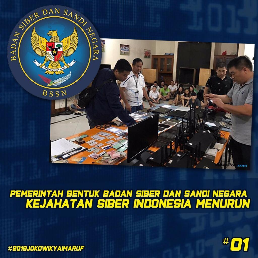 4 Tahun Jokowi-JK, Wiranto Sebut Kejahatan Siber Menurun