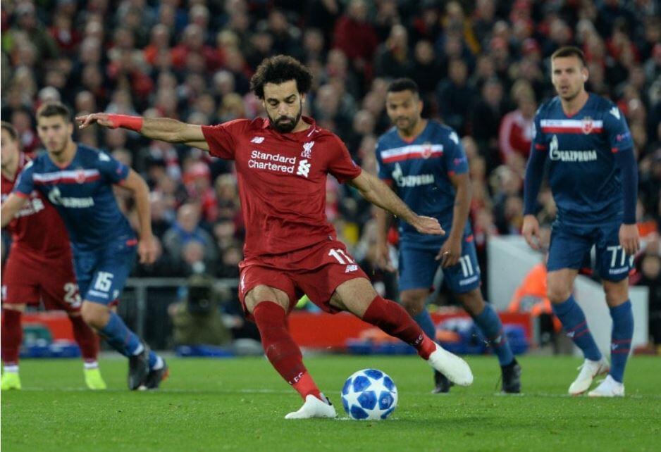 Hasil Bola: Liverpool Menang Besar atas Red Star