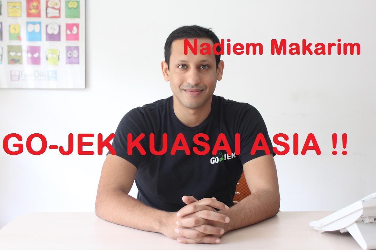FOUNDER GOJEK KUASAI ASIA !!!