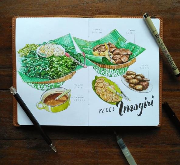 Ilustrator Lokal Jogja yang Perlu Agan Tau, Karyanya Bikin Laper Mata
