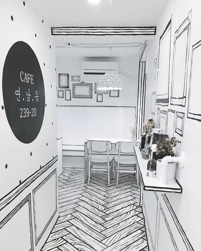 Masuk Kafe ini Berasa Lagi Ada di Dalam Komik Gan!