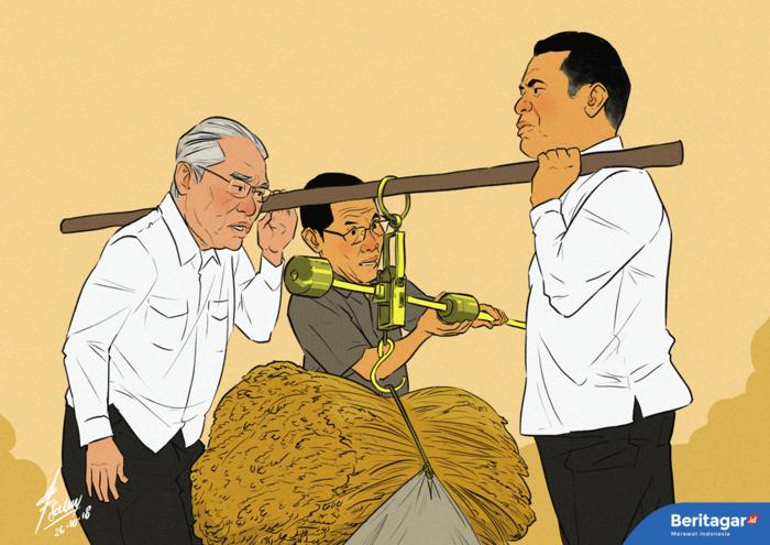 Data produksi beras dan kesejahteraan pertani