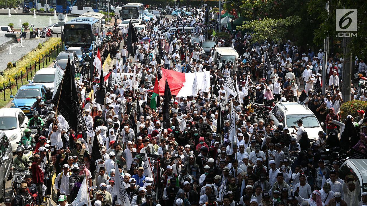 Aksi Bela Tauhid Berubah Jadi Ajang Kampanye 2019 Ganti Presiden