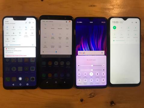 Uji Ketahanan Baterai Samsung A6, OPPO F9, Huawei Nova 3i, dan Vivo V11