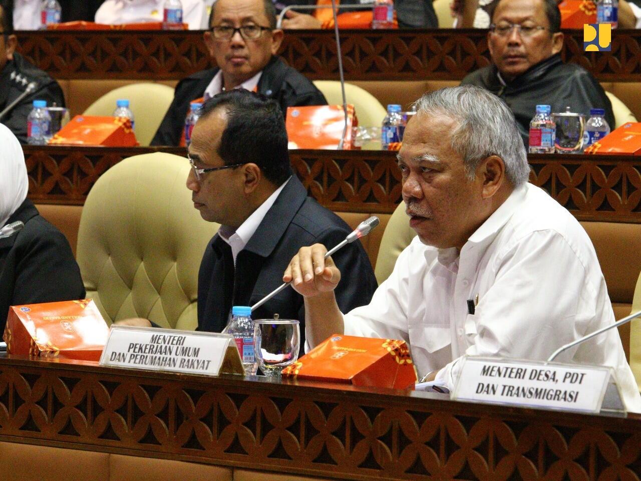 Anggaran Infrastruktur Kementerian PUPR Tahun 2019 Capai 110,7 Triliun