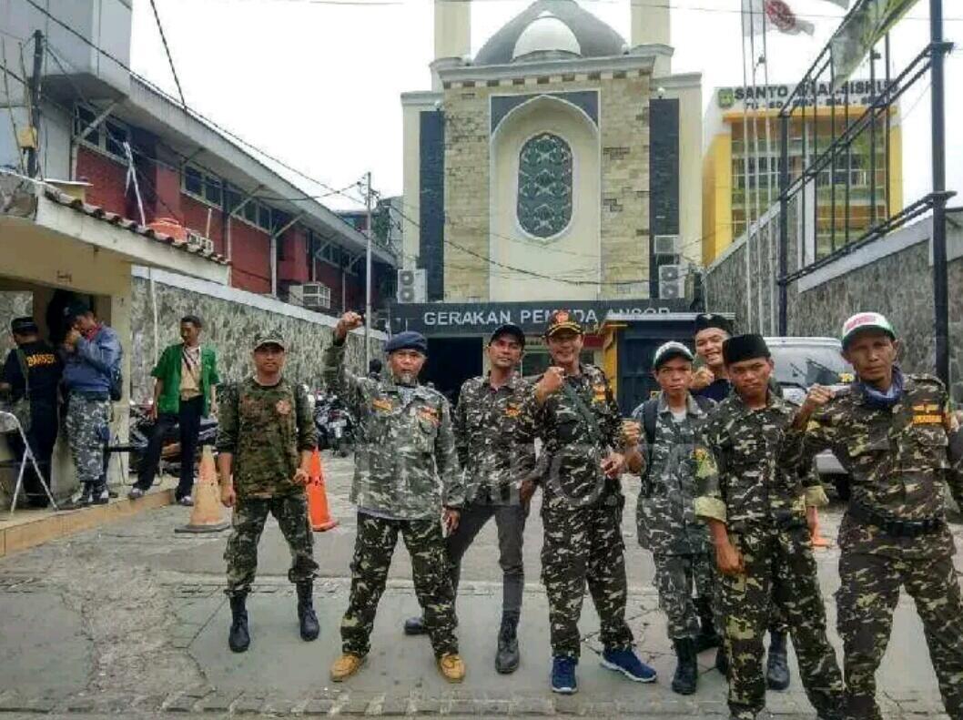GP Ansor Perintahkan Anggota Banser Tidak Berkeliaran di Jakarta