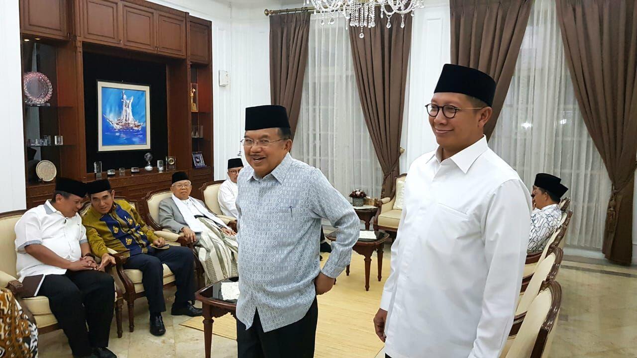 JK Undang Sejumlah Tokoh dan Pimpinan Ormas Islam di Rumah Dinasnya