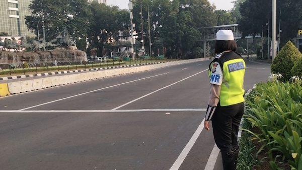 Ribuan Personel Polisi Diturunkan Untuk Kawal Aksi Bela Tauhid