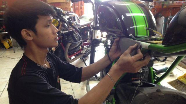 Modifikasi motor: dari hobi jadi sumber nafkah