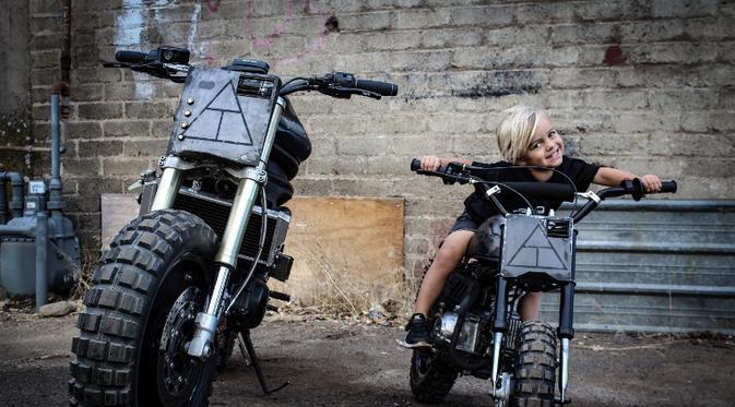 Keren, Modifikasi Motor Brawler Khusus Anak-Anak