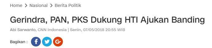 Prabowo Heran Dituduh Bela Khilafah