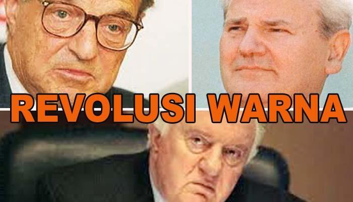 George Soros dan Revolusi Warna di Bekas Blok Uni Soviet Rusia